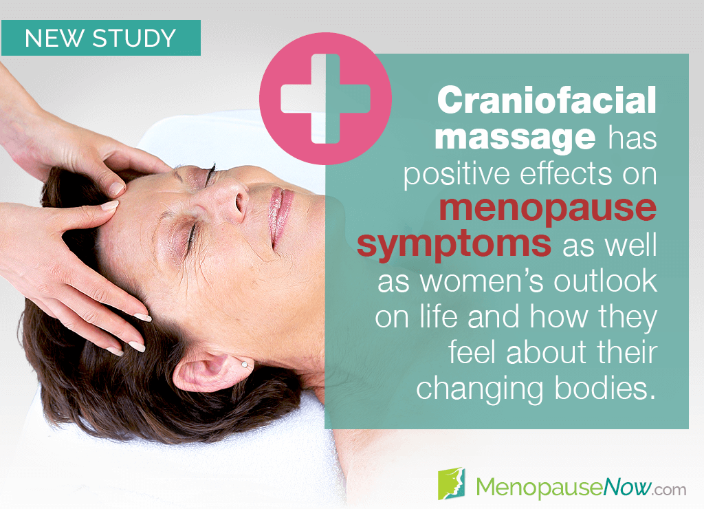 Study: Various menopause symptoms improved by craniofacial massage