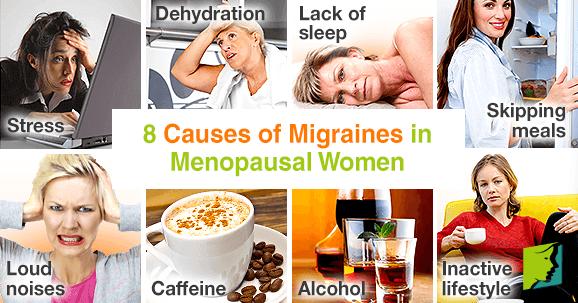 8 Causes of Migraines in Menopausal Women