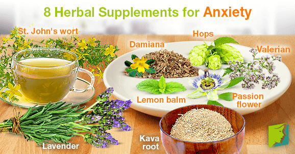 8 Herbal Supplements for Anxiety
