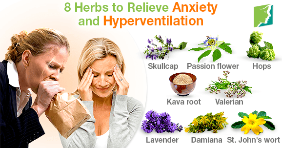 8 Herbs to Relieve Anxiety and Hyperventilation