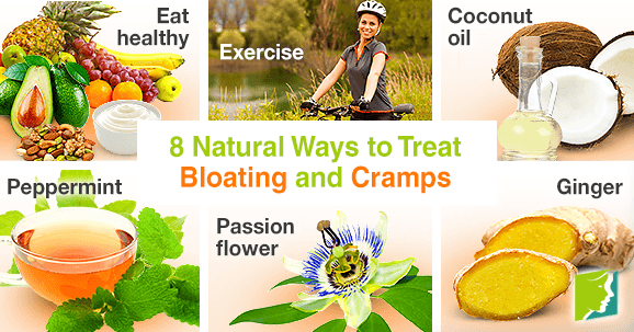 8 Natural Ways to Treat Bloating and Cramps