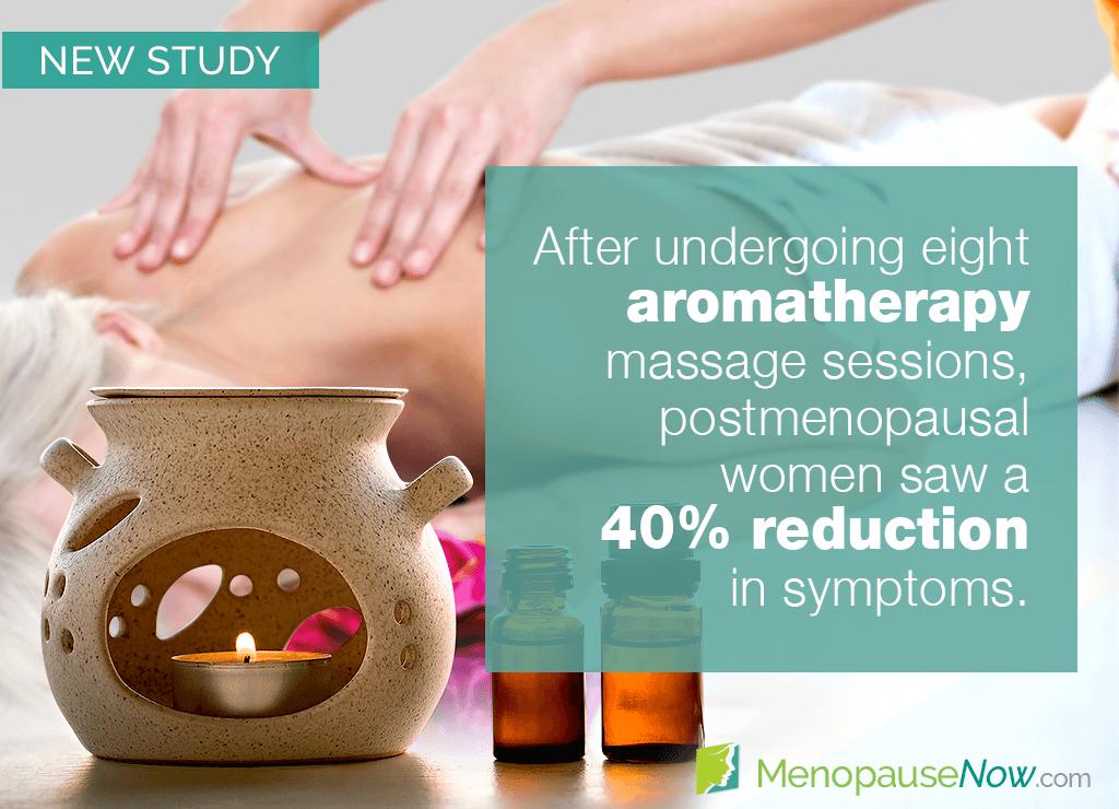 Study: Aromatherapy massage may be used to treat menopause symptoms