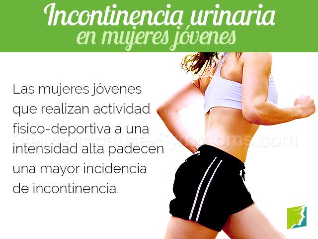 Incontinencia urinaria en mujeres jovenes