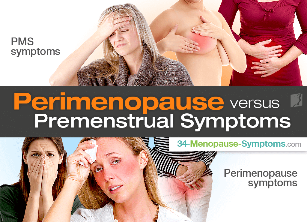 Perimenopause pms symptoms