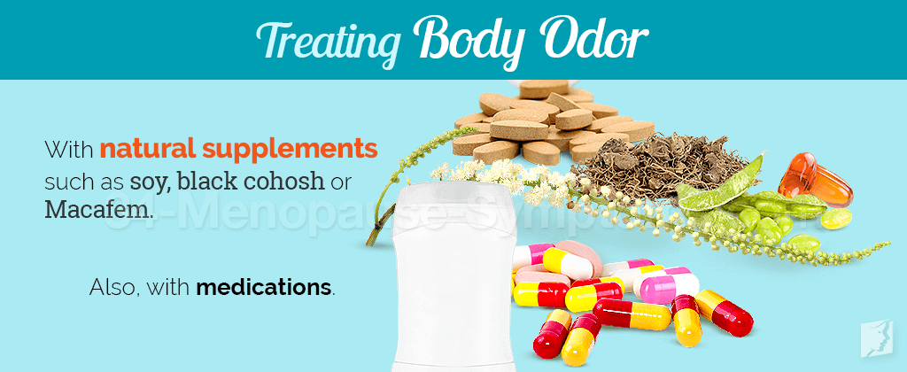 Treating body odor
