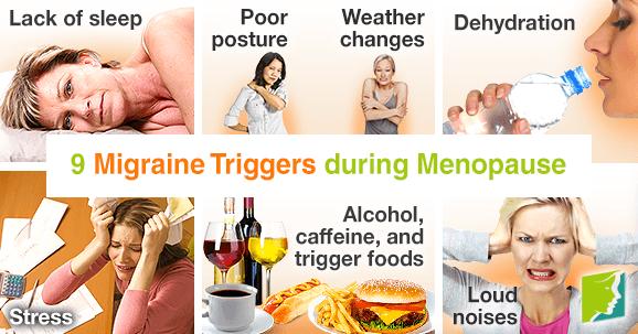9 Migraine Triggers during Menopause
