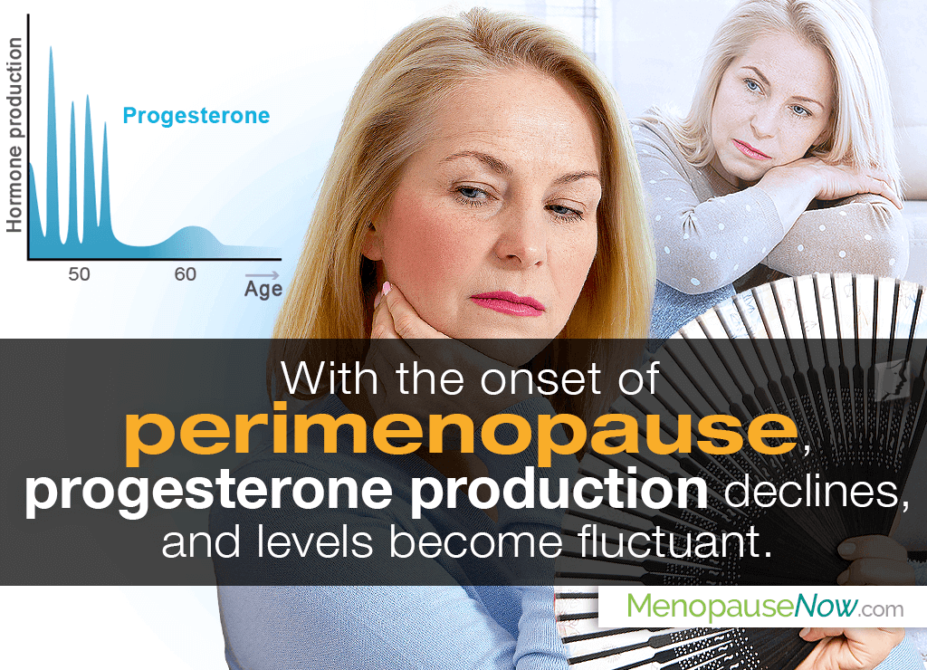 Low Progesterone during Perimenopause