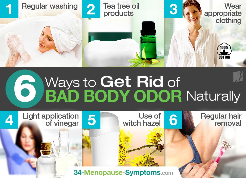 6 Ways to Get Rid of Bad Body Odor Naturally