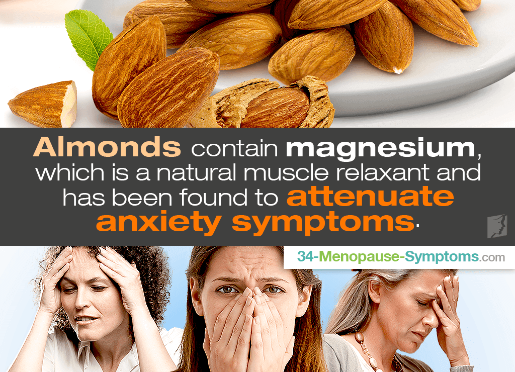 almonds for anxiety