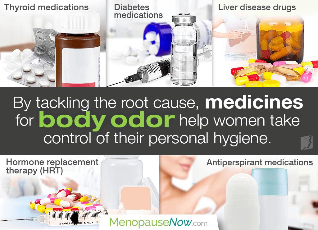 Medicine for Body Odor