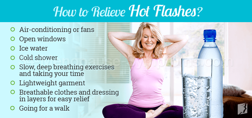 How to Relieve Hot Flashes