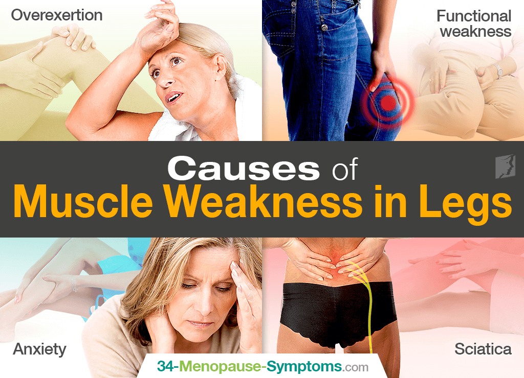 Causes of Muscle Weakness in Legs