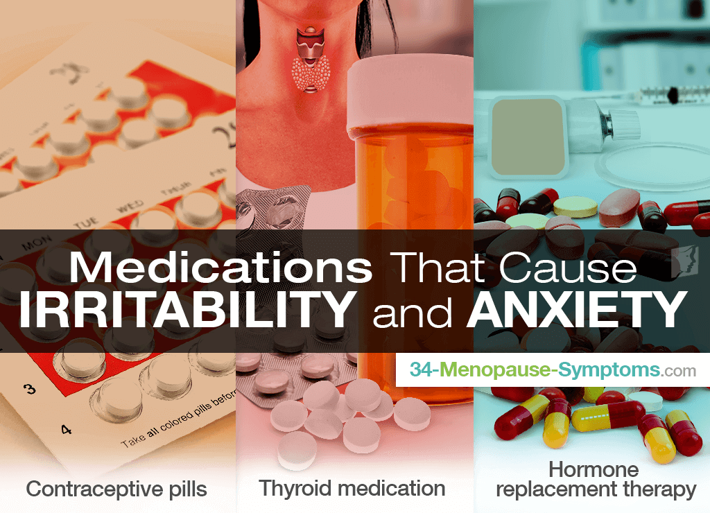 Medications that Cause Irritability and Anxiety