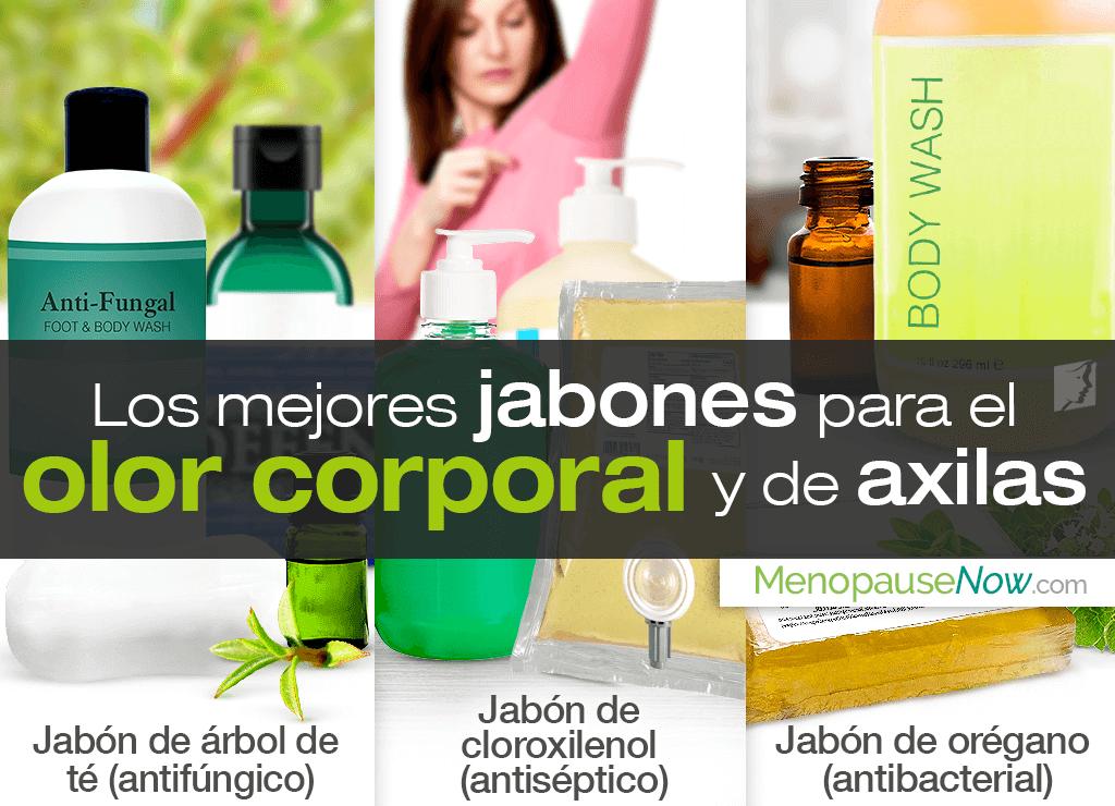 Los mejores jabones para el mal olor corporal y de axilas