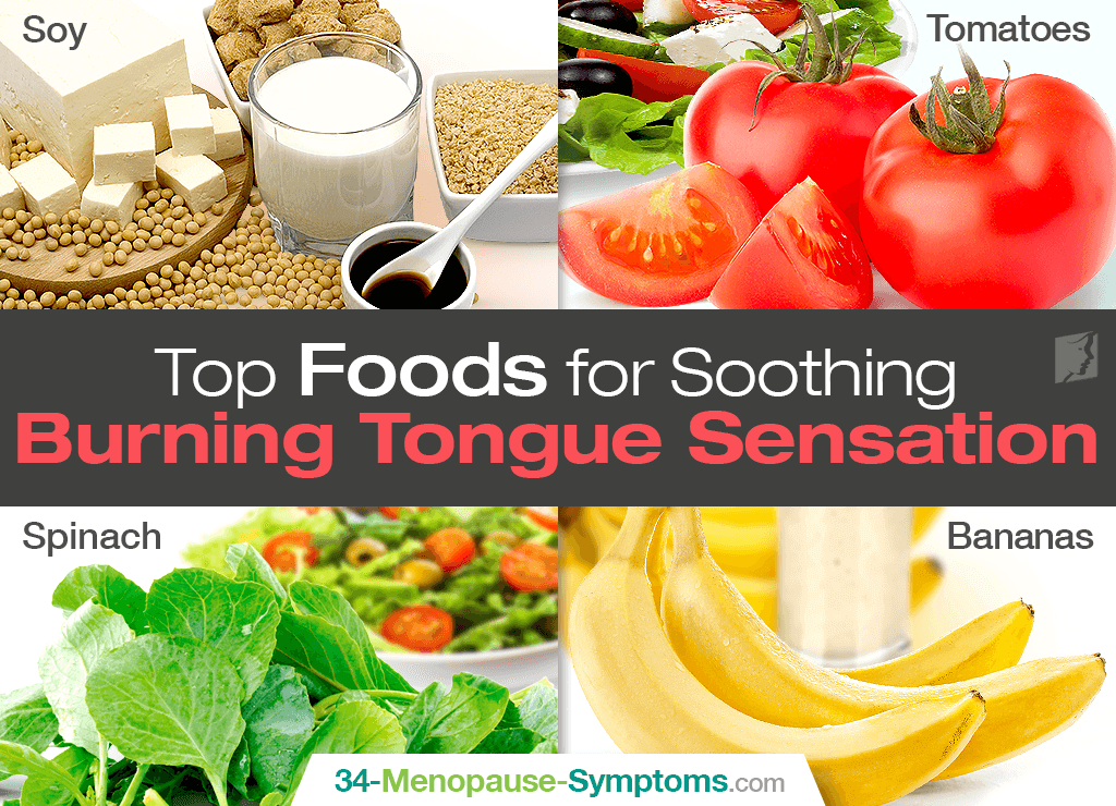 foods for burning tongue sensation