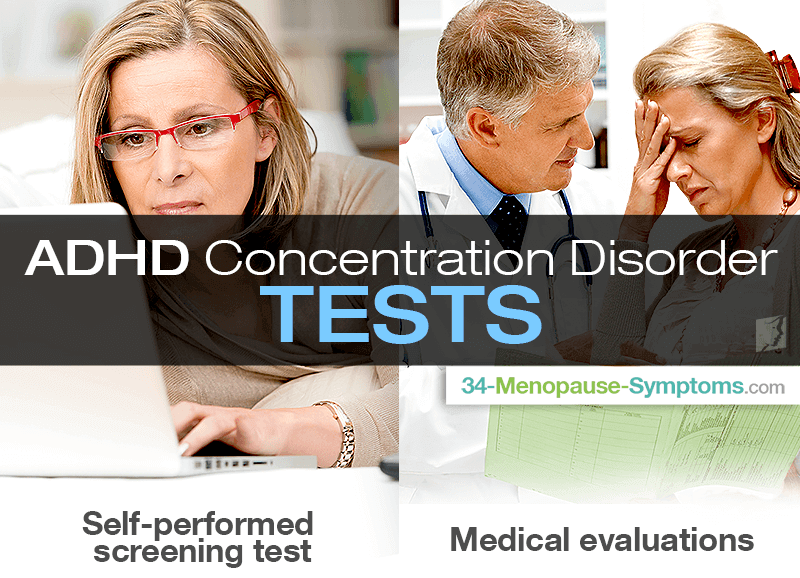 ADHD Concentration Disorder Tests