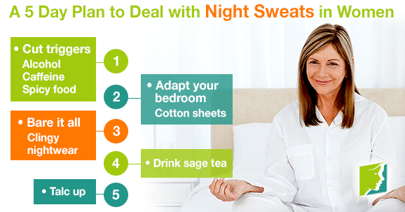 A 5-Day Plan to Deal with Night Sweats in Women