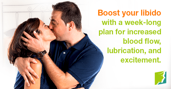 Boost your libido with a week-long plan for increased blood flow, lubrication, and excitement