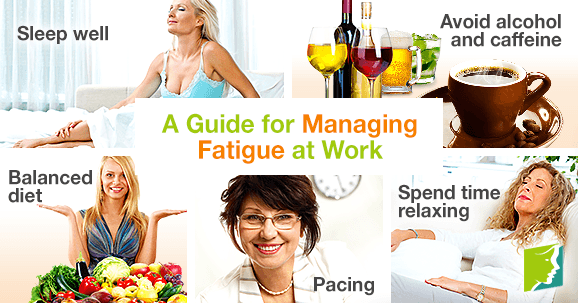 A guide for managing fatigue at work