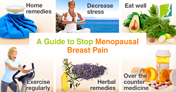 A guide to stop menopausal breast pain.