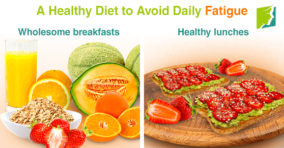 A Healthy Diet to Avoid Daily Fatigue