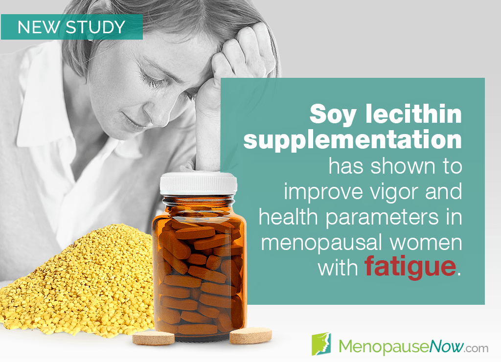 Study: Positive effects of soy lecithin on fatigue in menopausal women