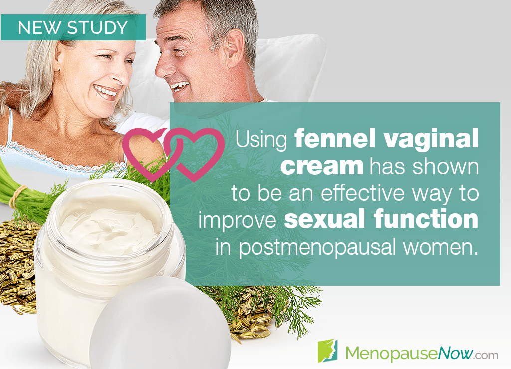 Study: Beneficial effects of fennel on postmenopausal sexual function