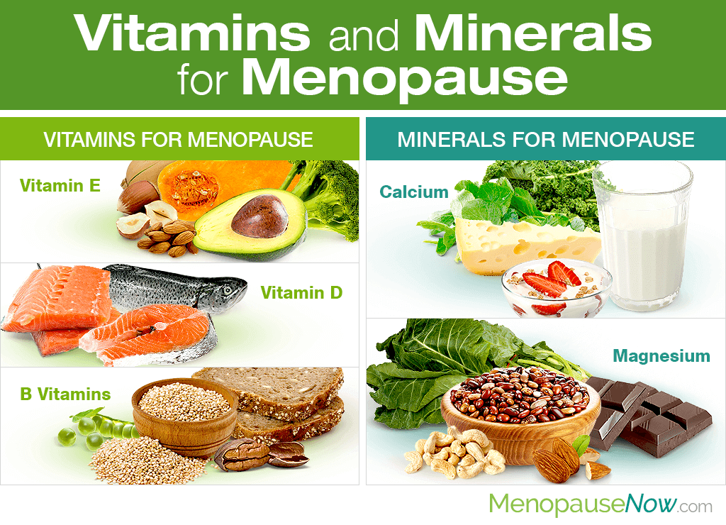 Vitamins and Minerals for Menopause