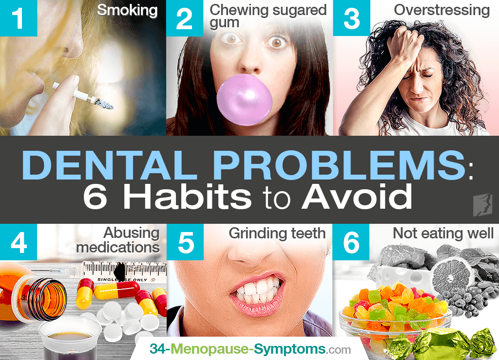 Menopause and Dental Problems: 6 Habits to Avoid