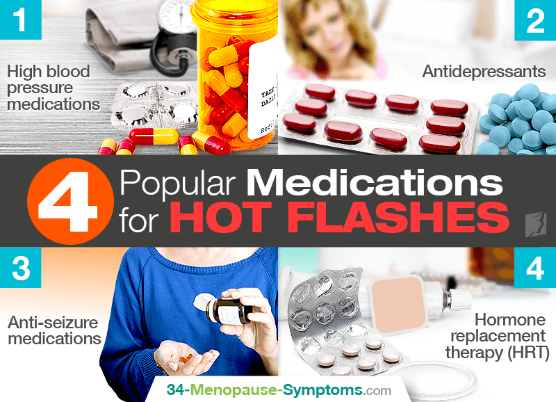 4 Popular Medications for Hot Flashes