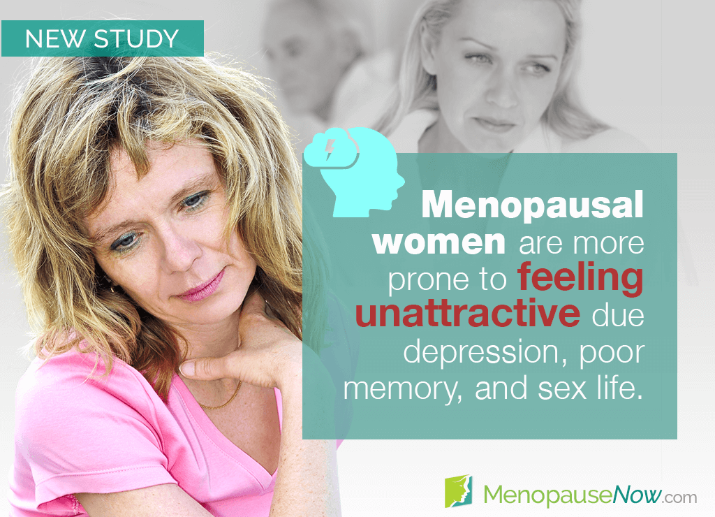 Study: Feeling unattractive in menopause linked to health issues