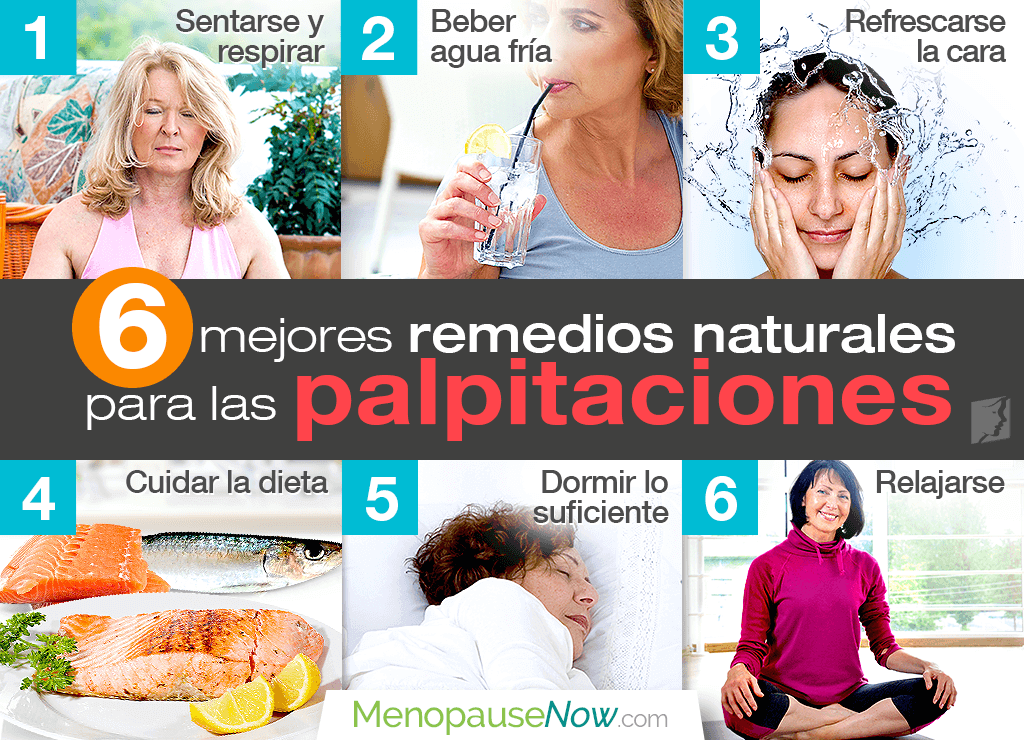 Los 6 mejores remedios naturales para las palpitaciones