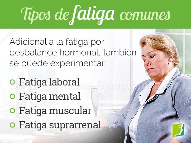Tipos de fatiga comunes