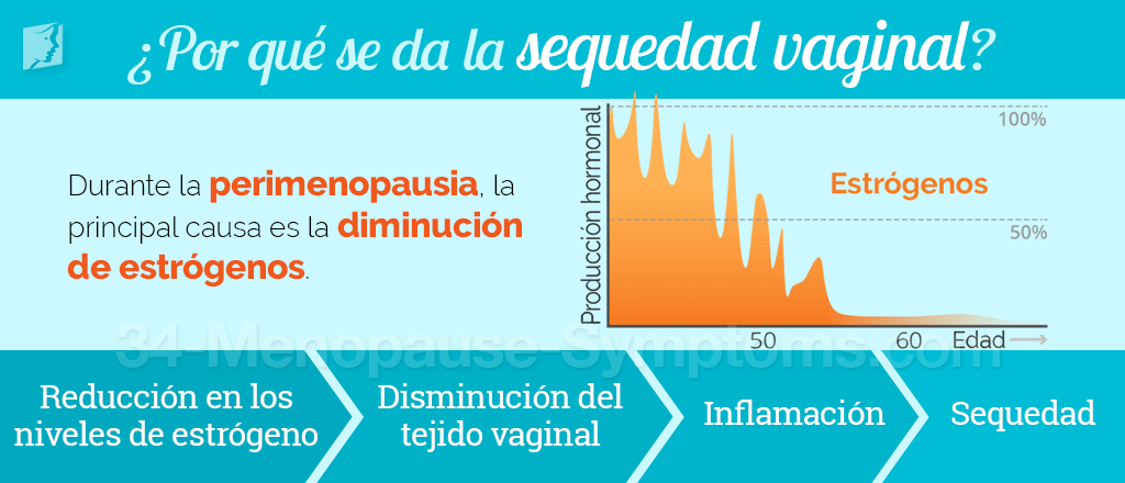 Causas de la sequedad vaginal
