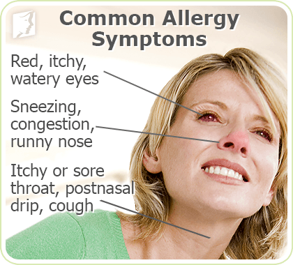 Common Allergy Symptoms