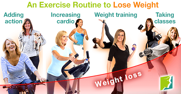 An Exercise Routine to Lose Weight
