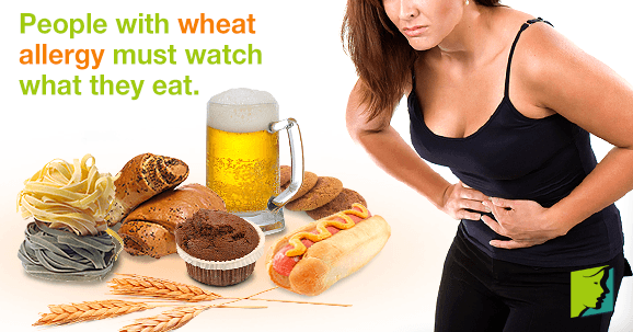People with wheat allergy must watch what they eat