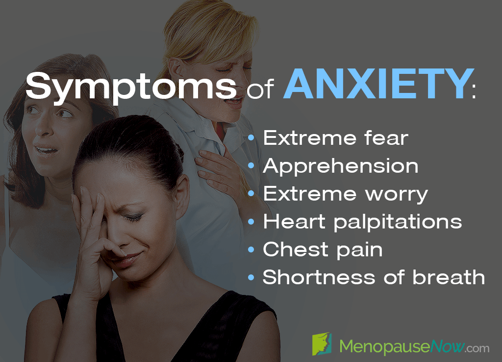 Anxiety in 46 Year-old Women