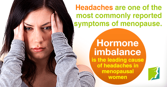 Headaches are one of the most commonly reported symptoms of menopause