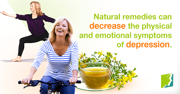 Natural remedies can decrease the physical and emotional symptoms of depression