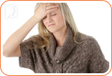 A postmenopausal woman doesn´t have to worry about periods