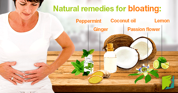 Natural remedies for bloating: