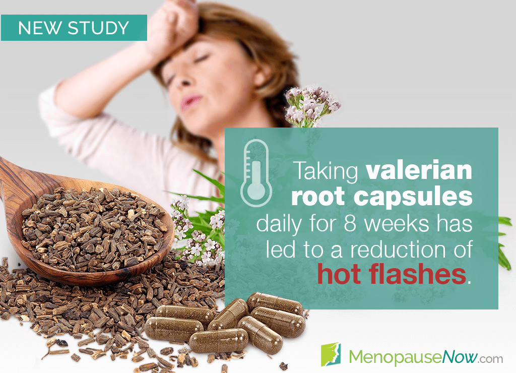 Study: Valerian root for treating menopausal hot flashes