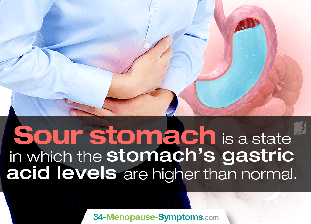 Sour stomach