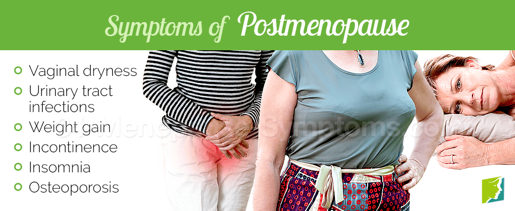 Symptoms of postmenopause