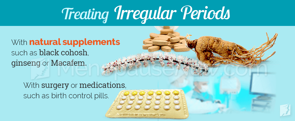 Treating irregular periods