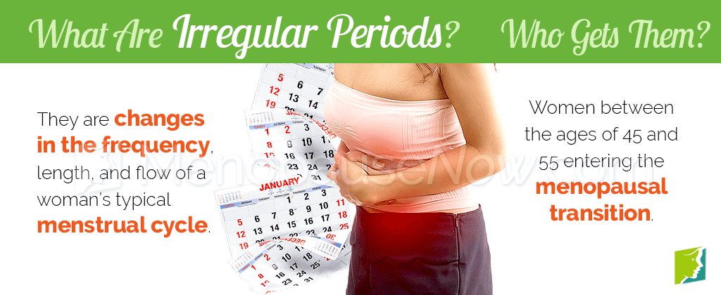 What are irregular periods