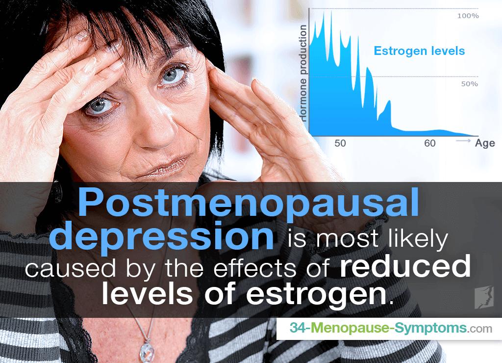 depression after menopause
