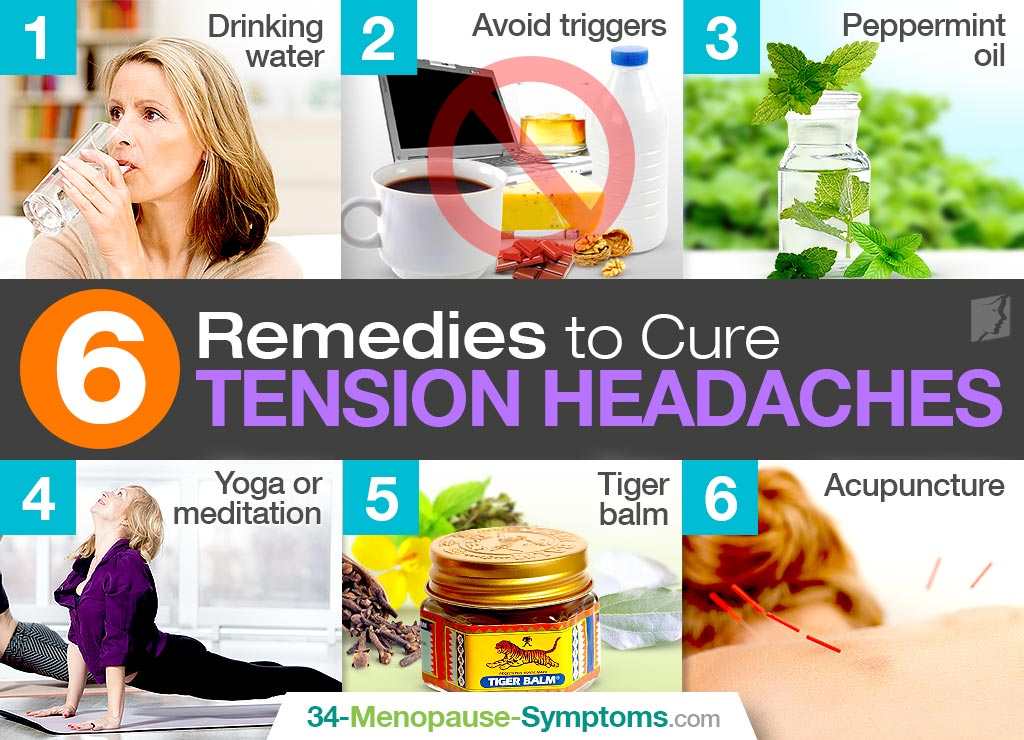 6 Remedies to Cure Tension Headaches