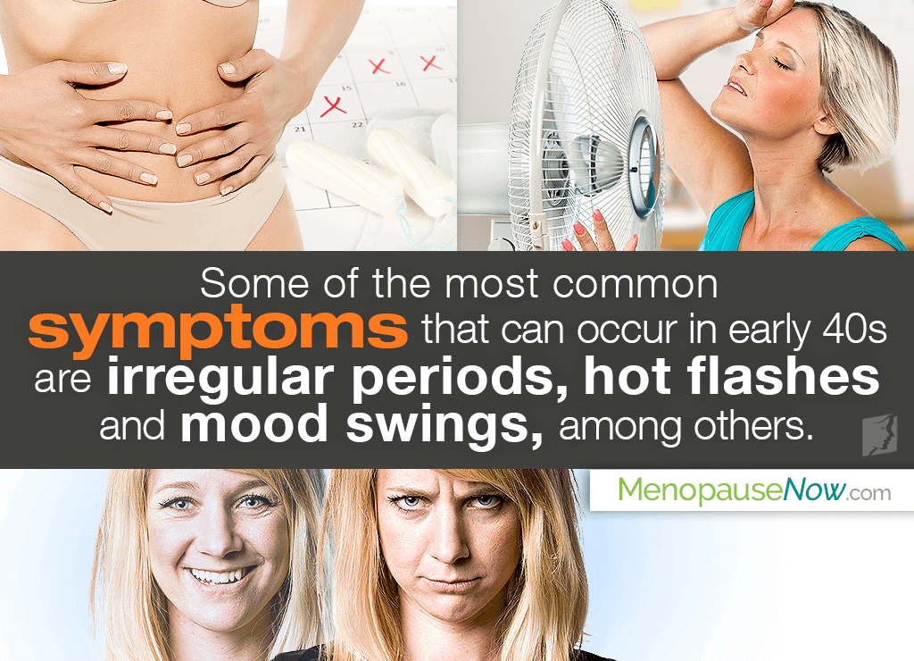 Menopause Symptoms: Early 40s